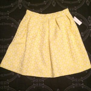 Anthropologie Hutch Lemon Zest Skirt